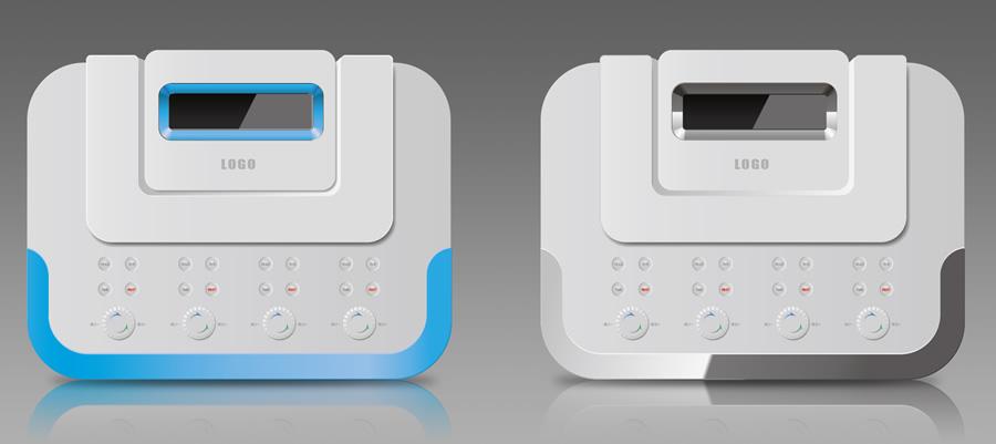 飞鹏工业设计案例-中频治疗仪图片
