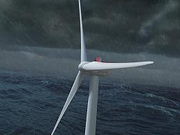 新能源风机CG动画