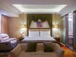 【酒店摄影】电竞酒店空间摄影-郑州酒店环境拍照