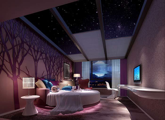 态自然 藏文化主题酒店装修设计 庆阳酒店装修设计 庆阳酒店装修公司
