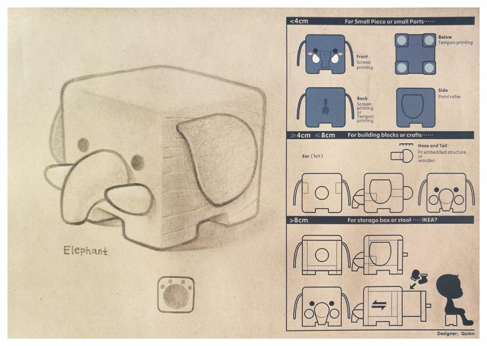 方形的;)小动物们 | cube zoo