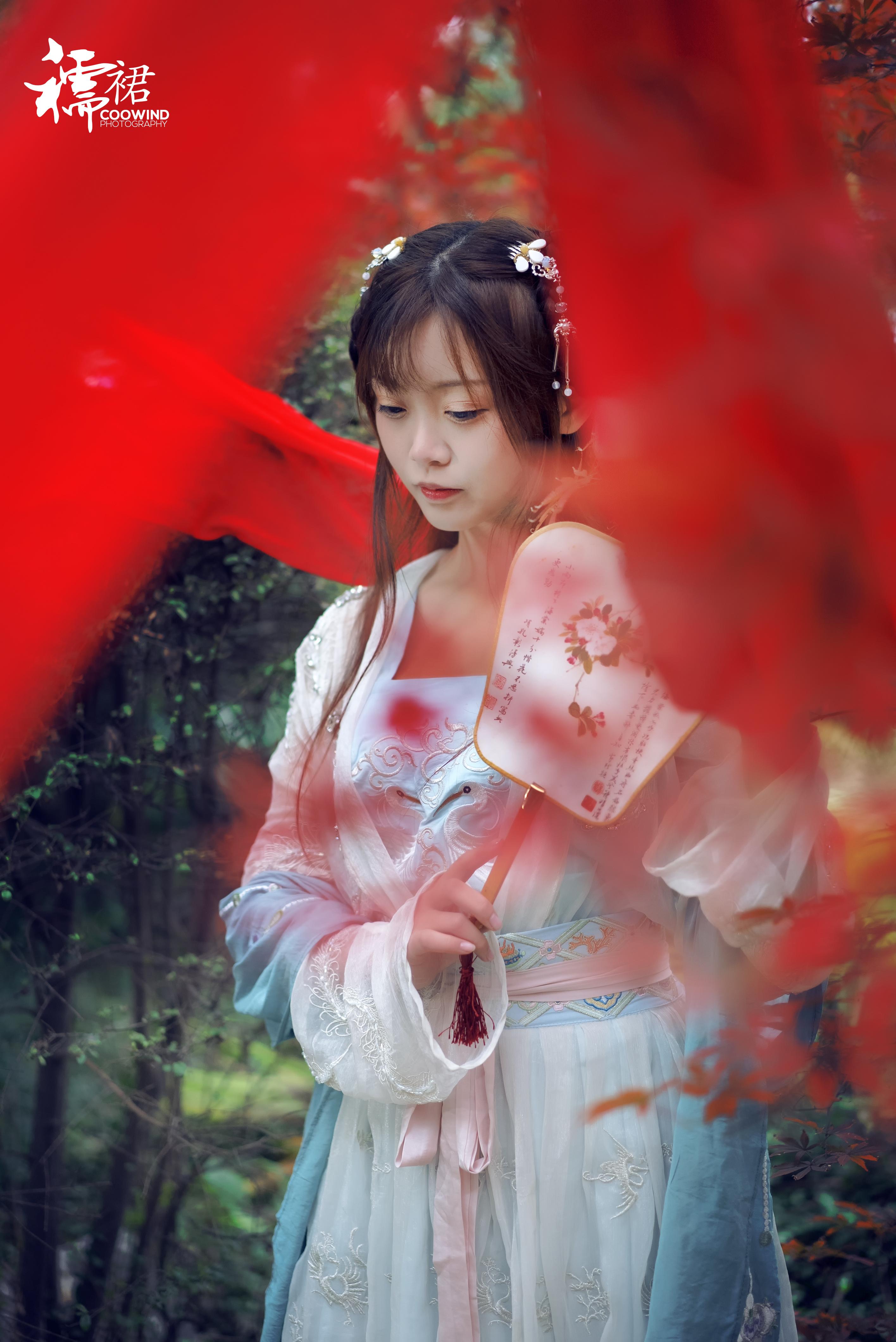 古风襦裙手绘画法