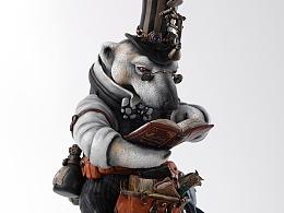 末那末匠丨镰田光司《极地读书会之北极熊》
