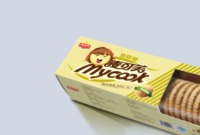 爱拍奕成_麦可芙马铃薯饼干 平面 包装 奕成 - 原创作品 - 站酷