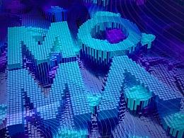 地产提案LOGO标志VI贴图主形象户外导视C4D立体质感