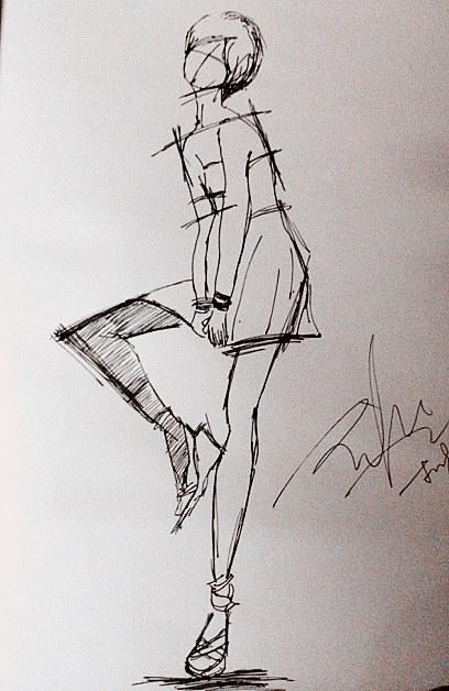 简笔画 手绘 线稿