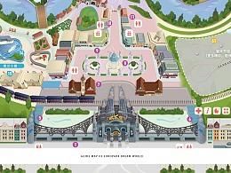 泉城欧乐堡-乐园地图绘制