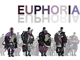 #2020青春答卷#《EUPHORIA》服装设计