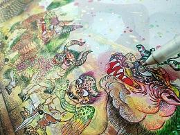 山海经异兽系列之故宫太和殿十大神兽