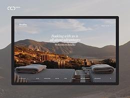 Batalha offical website Someting redesign