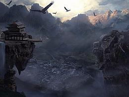 轩辕剑汉之云的两张概念
