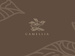 logo设计 山茶