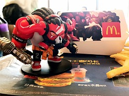 王者荣耀 x 麦当劳 55开黑节 活动产品设计