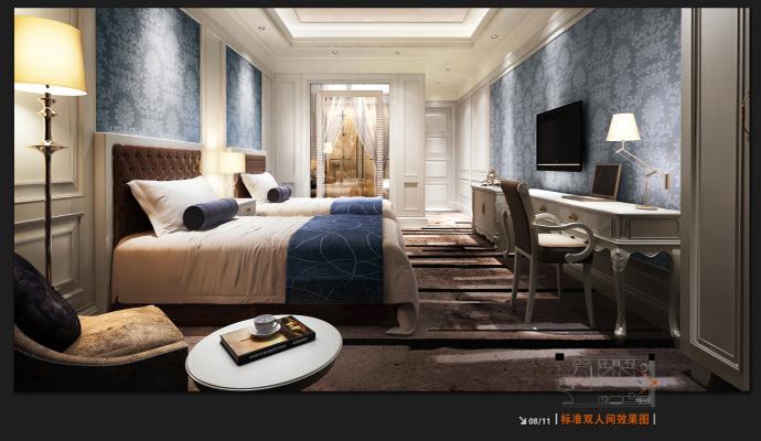 法式酒店酒店--德阳酒店v酒店|德阳主题装修|室内稀区室内设计有限公司图片