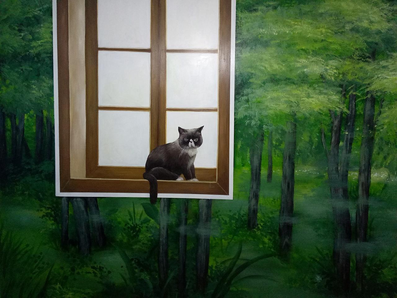 我们的手绘墙作品——艺芭art手绘北京工作室