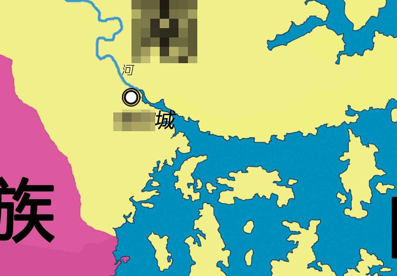 青莲星球 - 手绘地图(浩大的的工程/未完高)