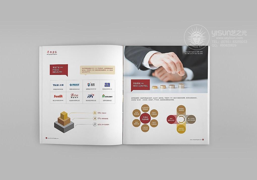 华软资本画册设计,金融画册设计,产品画册设计图片