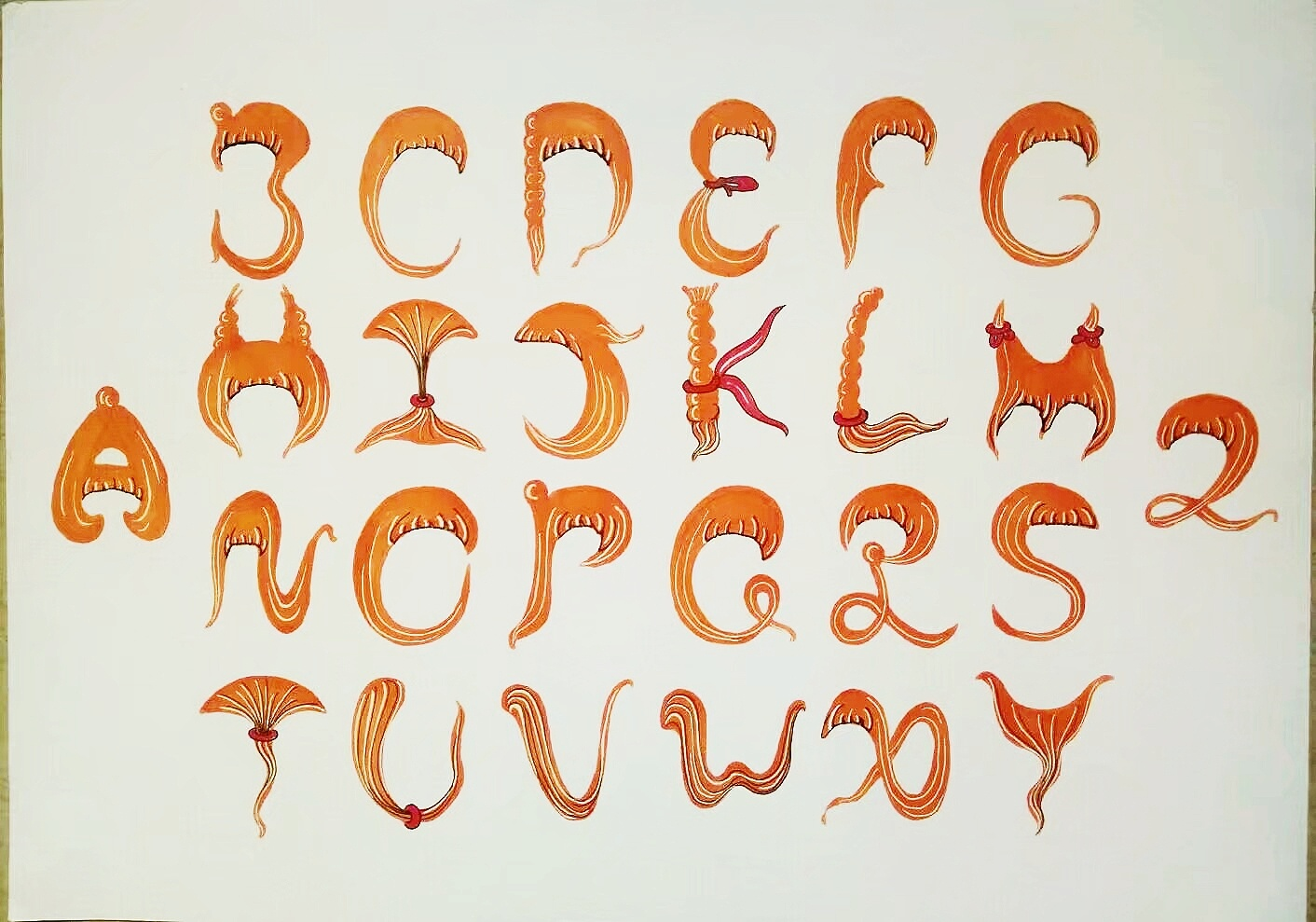 手绘·字体设计