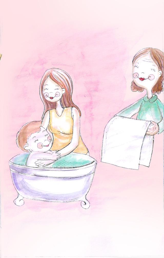 母亲节手绘