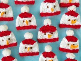 编织圣诞小帽子