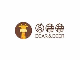 圆鹿鹿烘焙品牌形象及包装设计