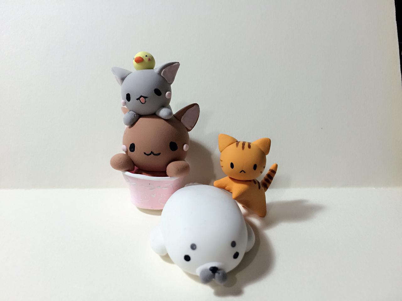 做了一些可爱的小动物