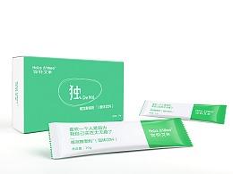 酵素粉(固体饮品)袋装盒装广告拍摄