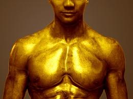 肌肉型男 金刚不坏神功   照片合成