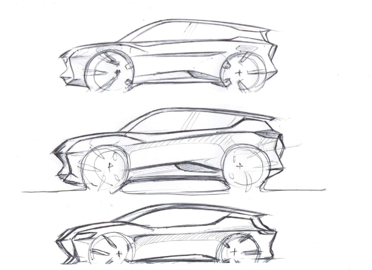 汽车手绘图|工业/产品|交通工具|南海游龙 - 原创作品