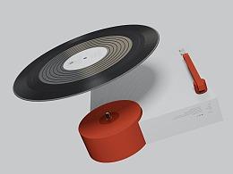 SHR.D-唱片机设计