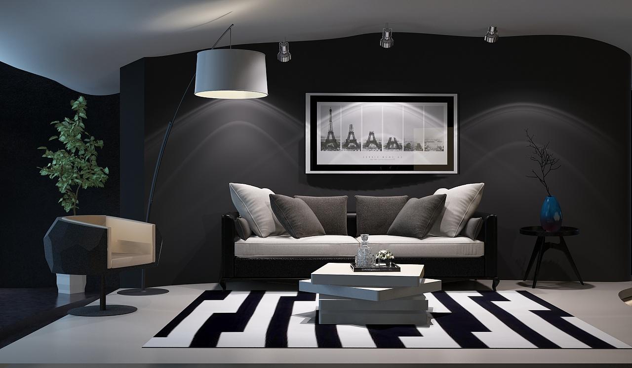 室内设计|三维|建筑/空间|鲁春燕 - 原创作品 - 站酷