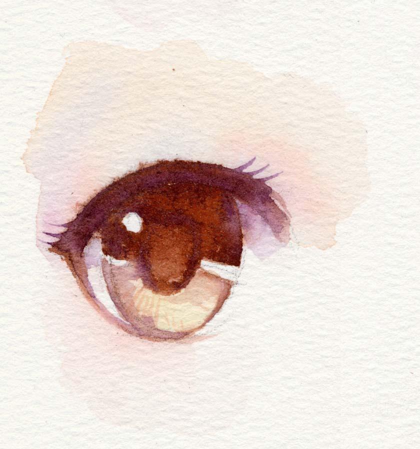 游戏水彩艺术,眼睛漫画工作室|大叔|纯大叔|水彩的手绘类似漫画最后
