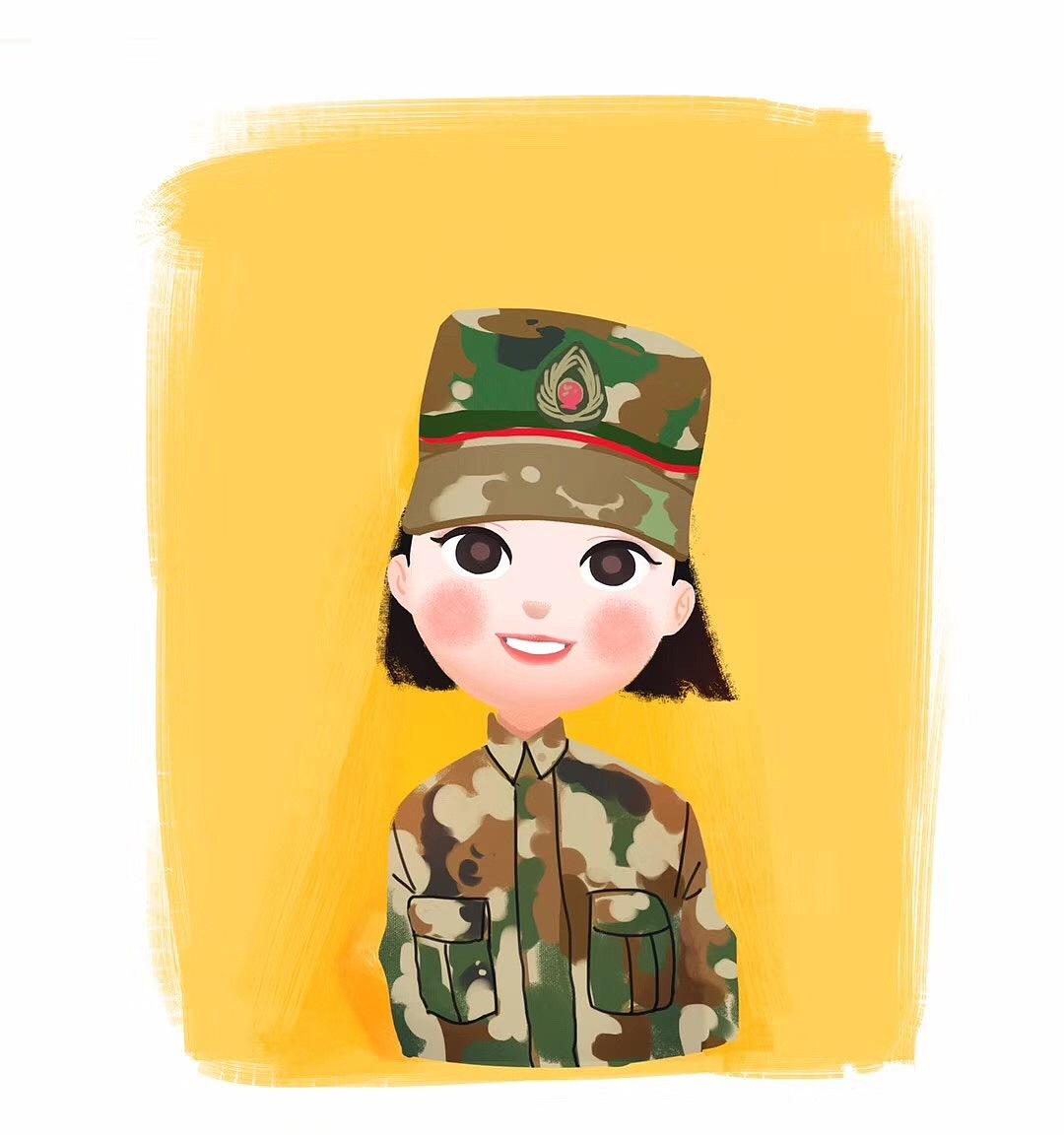 皮漫画 人物 娃娃漫画 熊肖像手绘馆YJ-原创作动漫孩子江应怜图片