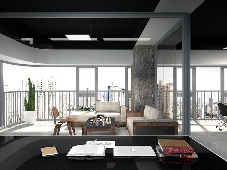 前意识设计办公室 办公室设计 北欧风格 叶平设计 品牌设计 空间设计图片