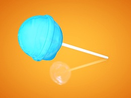 棒棒糖材质模拟