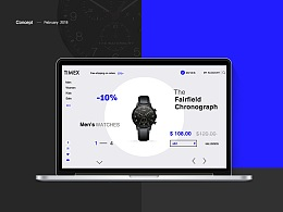 TIMEX手表电商网页