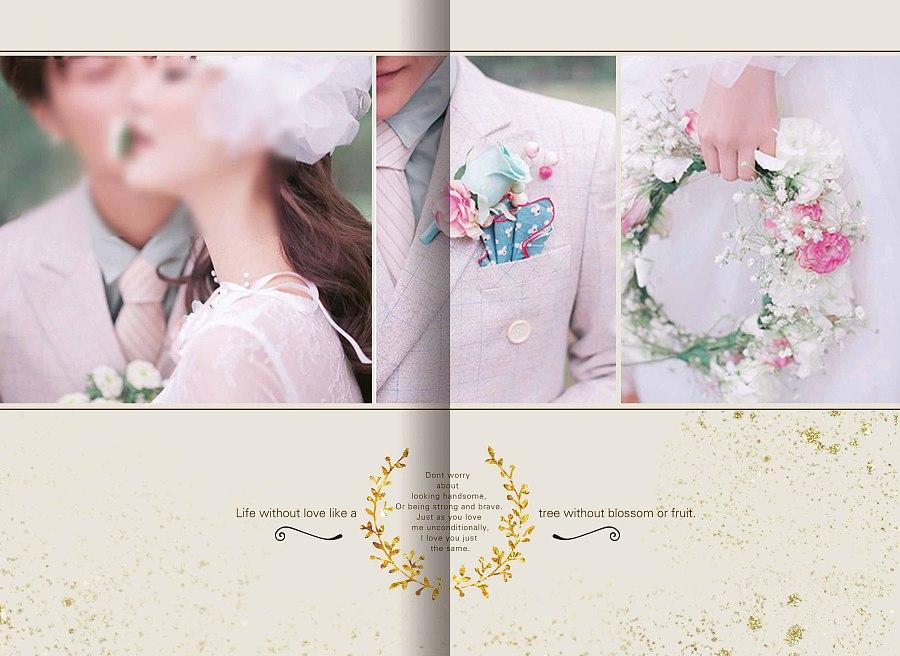 唯美婚纱相册 相册模板