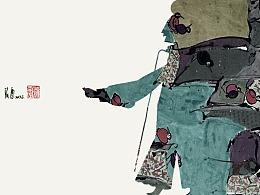 刘贇国画作品