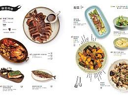 西餐厅菜单拍摄
