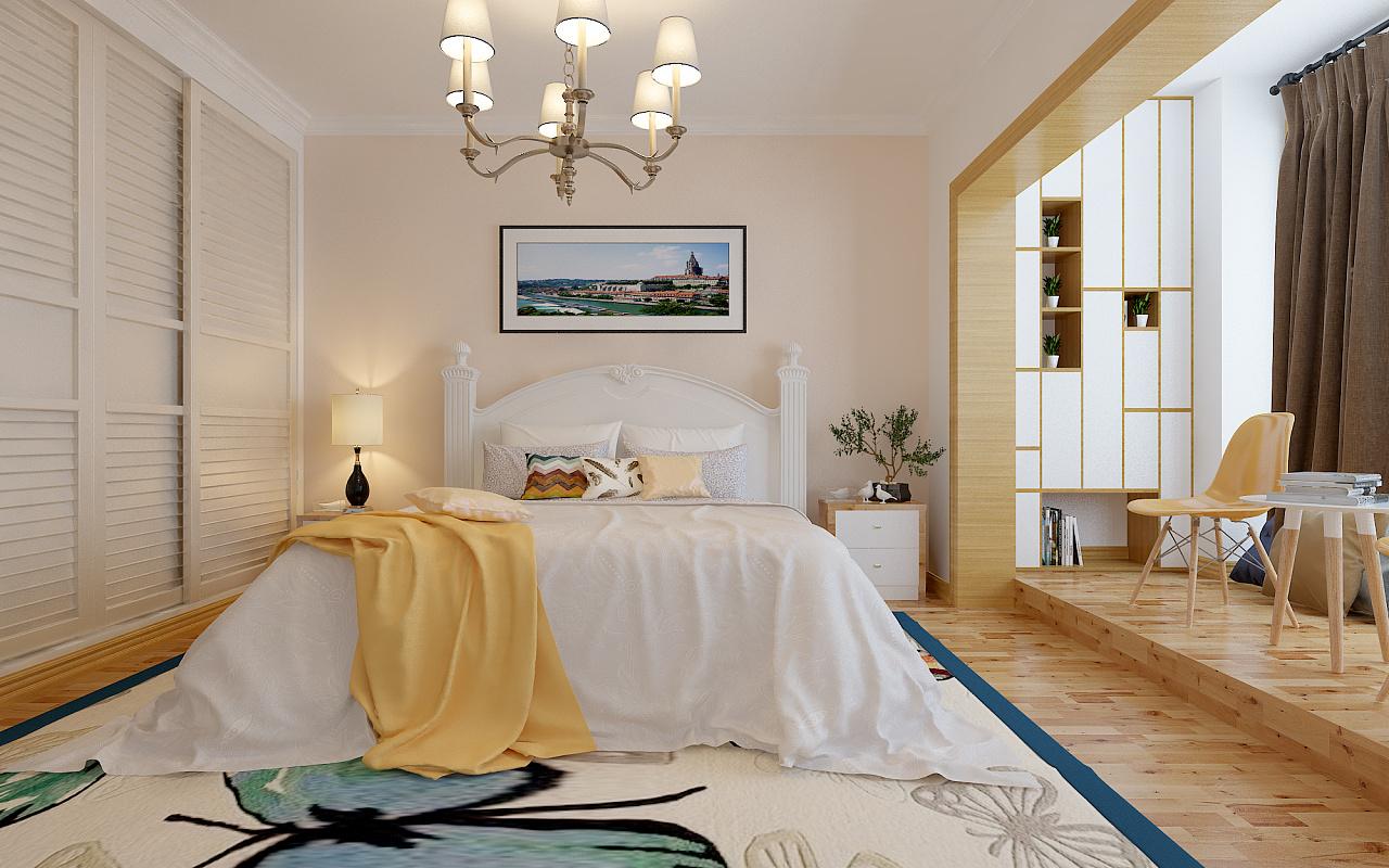 卧室练习|空间|室内设计|rongviola - 原创作品