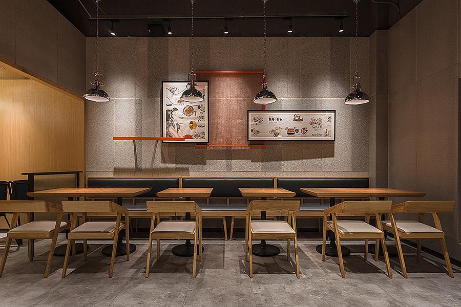 异国料理店 · 餐饮空间设计_元吉の鳗鱼饭 喜荟城店