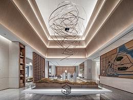 广州方圆·星宇月岛营销中心:一室风雅,律动东方