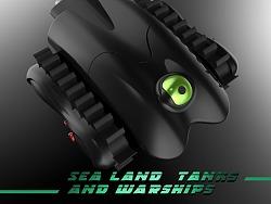 海陆两用多功能战车设计