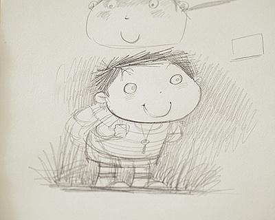 速写背书包_背书包的小孩|插画|儿童插画|明天教室 - 原创作品 - 站酷 (ZCOOL)