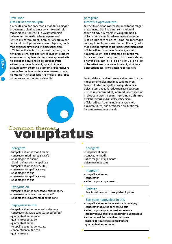 InDesign建筑手册排版图片