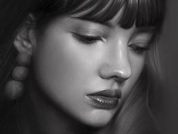 绘画练习-肖像人物