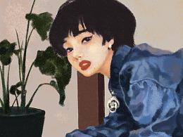 人像插画练习-小松菜奈&营田将晖
