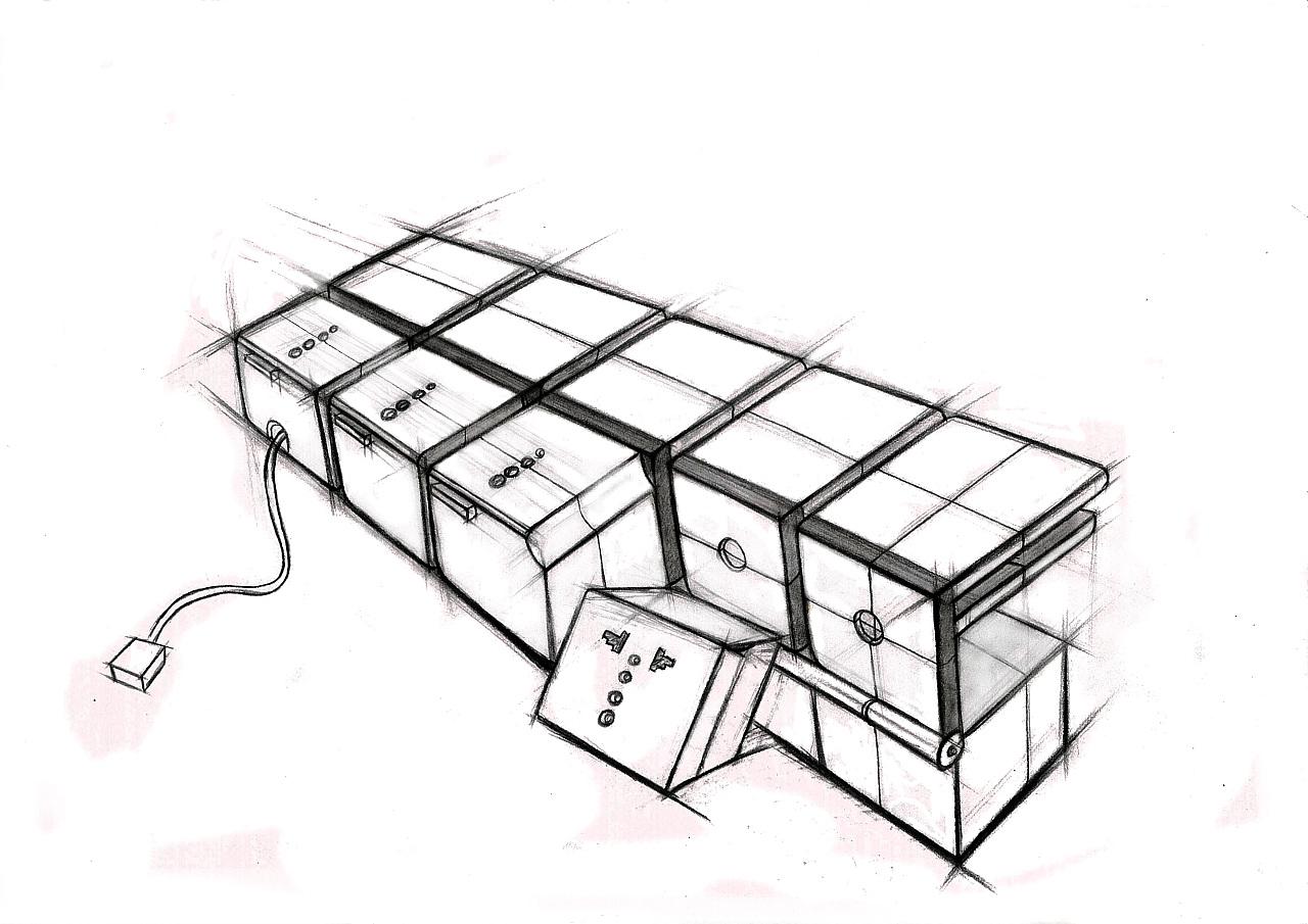 产品手绘 工业/产品 电子产品 zhangyanran - 原创