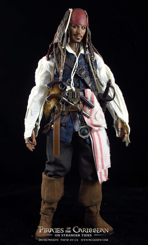 加勒比惊涛怪浪_HOTTOYS DX06 1/6 加勒比海盗4:惊涛怪浪--杰克船长小拍|摄影|静物|G.S ...