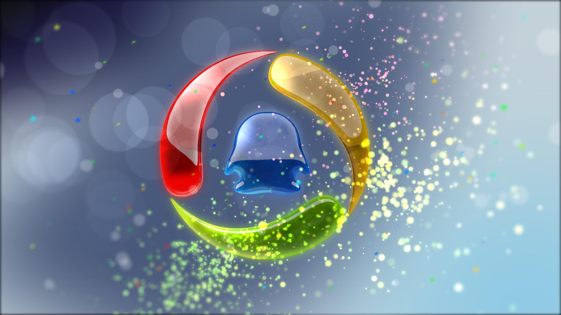 腾讯logo设计|三维|动画/影视|vfxmou - 原创作品图片